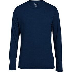 super.natural Base 140 Longsleeve Herr ocean deep